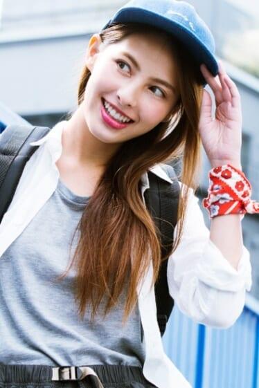 外国人モデルのアイリーン