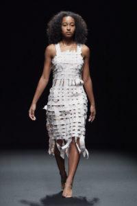 アマゾン ファッション ウィーク東京(Amazon Fashion Week TOKYO)「グローバル ファッション コレクティブ」2019年春夏東京コレクション外国人モデル:スーラ・Iの写真