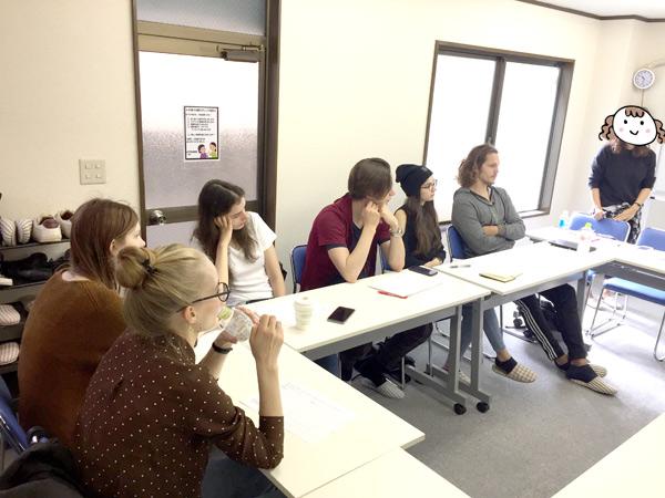 外国人モデル事務所フリー・ウエイブのモデル教育クラスの写真