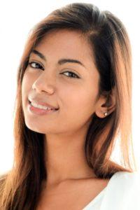 ストロベリーナイト・サーガ第10話に出演する外国人モデルの山本ロザの写真