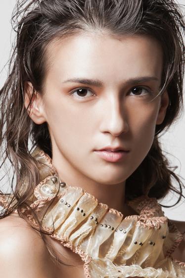 外国人モデル ヤナ・Uの写真