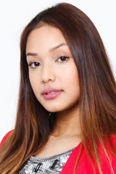 外国人モデル ビアンカ・Tの写真