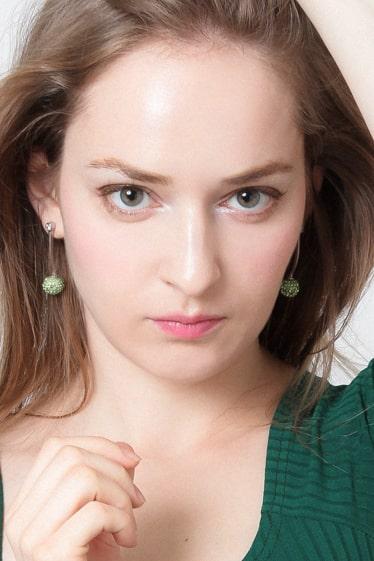 外国人モデル イエヴァ・Wの写真