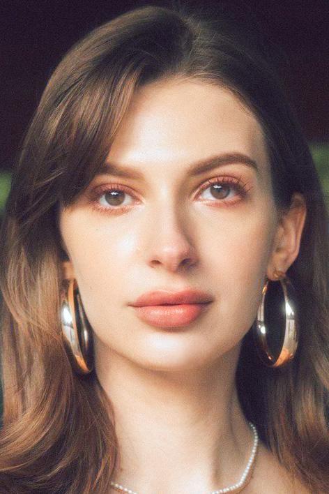 外国人モデル カロリーナの写真