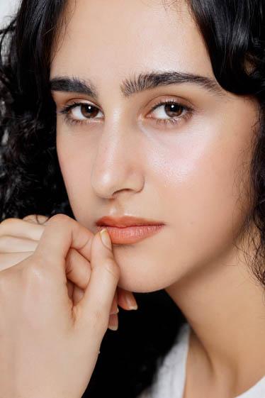 外国人モデル マリヤム・Eの写真