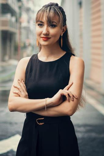 外国人モデル/外国人タレント・文化人 エメリン・Yの写真2