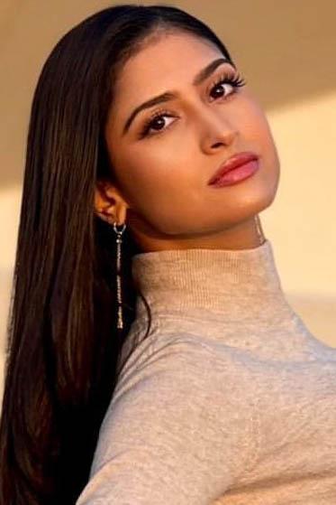 外国人モデル クリスティーン・Kの写真