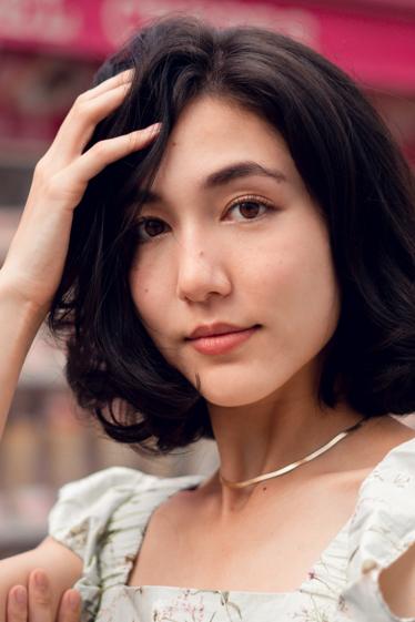 外国人モデル ジョージアの写真