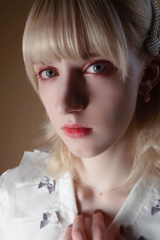外国人モデル ハイディ・Aの写真