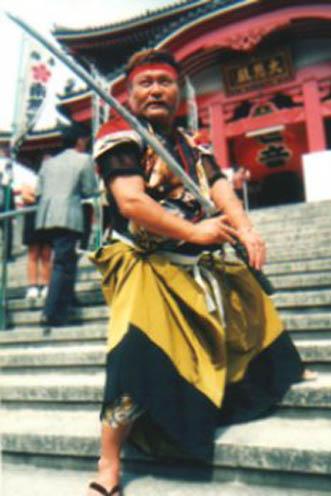 外国人ダンサー・パフォーマー リュウテイ フウシの写真1