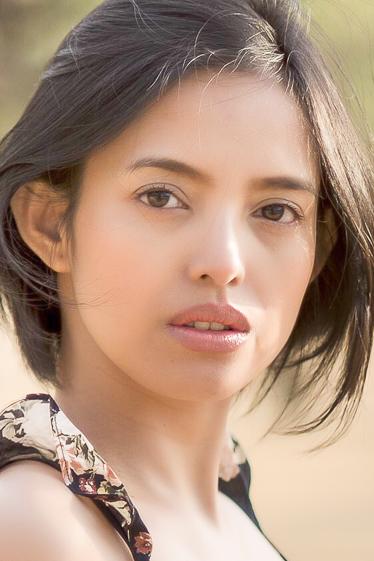 外国人モデル メラニー・Uの写真
