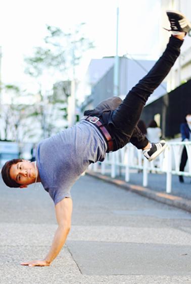 外国人ダンサー・パフォーマー ブリーズの写真2
