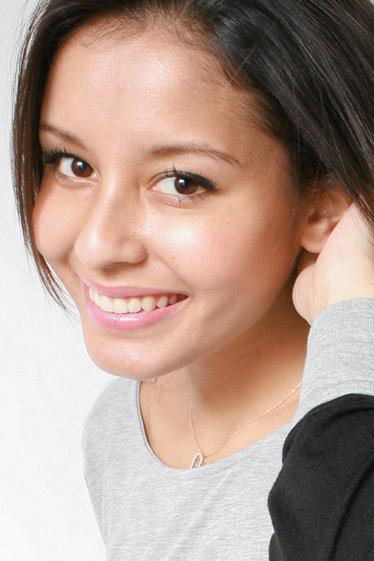 外国人モデル ジェニファーの写真