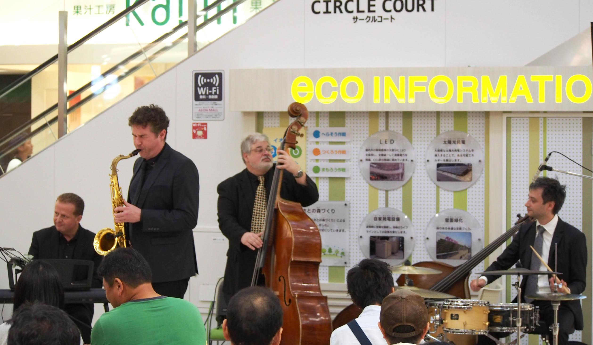 外国人シンガー・ミュージシャン アカデミア Jazz band の写真5