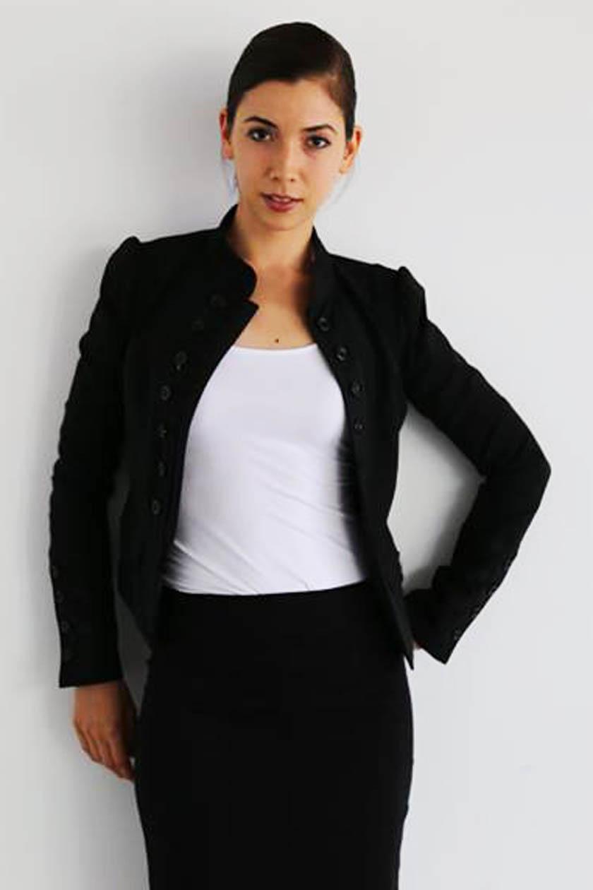 外国人モデル/外国人俳優 クリスタル・マキの写真2