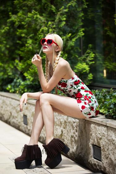 外国人モデル/外国人タレント・文化人 ジェリー・ピーチの写真8