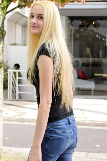 外国人モデル/外国人タレント・文化人 ジェリー・ピーチの写真9