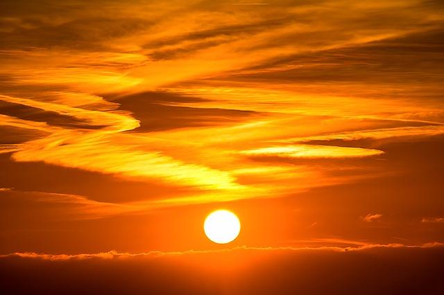ゲン担ぎ・太陽の写真