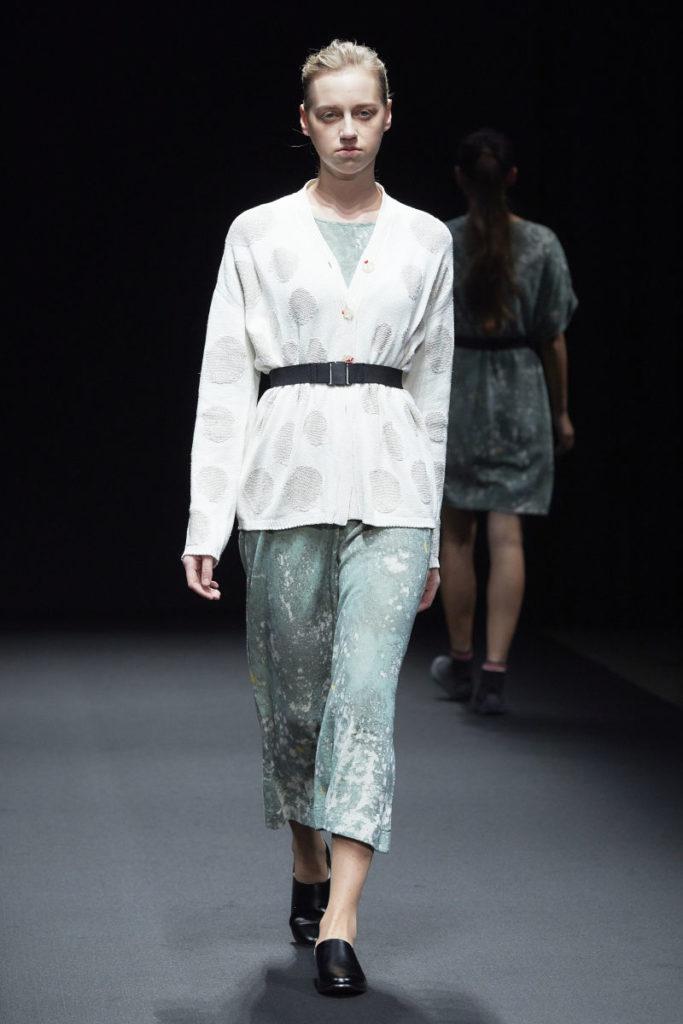 アマゾン ファッション ウィーク東京(Amazon Fashion Week TOKYO)「グローバル ファッション コレクティブ」2019年春夏東京コレクション外国人モデル:パウリーナの写真