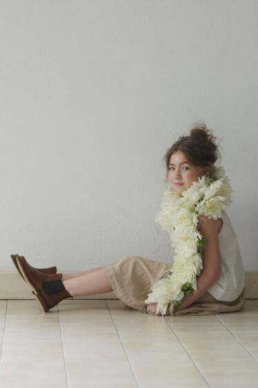 ハーフタレント、俳優、子役のMarina Aicholtz(マリナ・アイコルツ)の写真