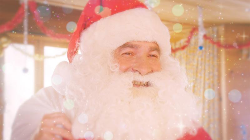 魔法戦士マジマジョピュアーズに登場した外国人サンタクロース役のマヌの写真