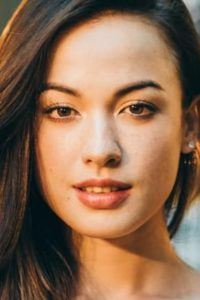 テレビ東京系ザ・コラボレーションのタイトルコールを担当している外国人モデルケレンの写真
