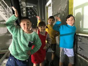 クリクラのCMに出演している子供たちの画像