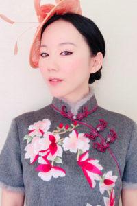 中国人タレントのインミャオの画像
